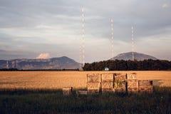Landwirtschaftliche Landschaft in Provence, Frankreich Stockfoto