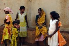 Landwirtschaftliche Lebensdauer in Indien stockbild
