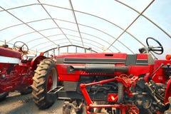 Landwirtschaftliche Maschinen Stockfoto