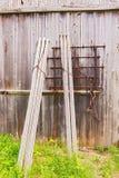 Landwirtschaftliche Maschinen der Weinlese Lizenzfreies Stockfoto
