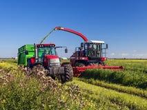 Landwirtschaftliche Maschinerie Stockbild