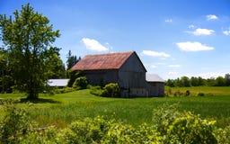 Landwirtschaftliche Ontario-Landschaft Lizenzfreies Stockfoto