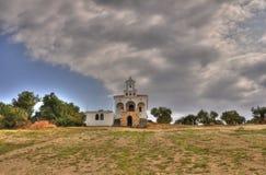 Landwirtschaftliche orthodoxe Kirche Lizenzfreie Stockfotos