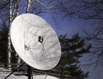 Landwirtschaftliche Satellitenschüssel Stockfotografie