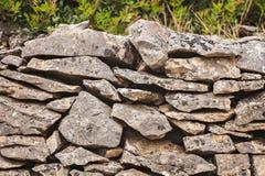 Landwirtschaftliche Steinwand Stockbild