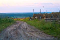 Landwirtschaftliche Straße Stockbild