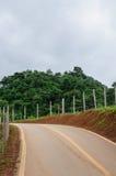 Landwirtschaftliche Straße lizenzfreie stockbilder