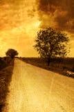 Landwirtschaftliche Straße Stockfoto
