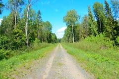 Landwirtschaftliche Straße Lizenzfreie Stockfotografie