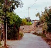Landwirtschaftliche Straße Stockfotos