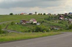 Landwirtschaftliche Straße Redaktionelles Bild Lizenzfreie Stockfotos