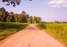 Landwirtschaftliche Straßen Stockfoto