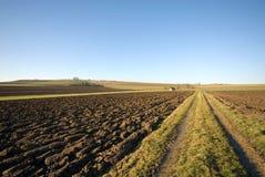 Landwirtschaftliche Szene, Deutschland Lizenzfreies Stockfoto