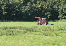 Landwirtschaftlicher Ackerschlepper Lizenzfreies Stockbild