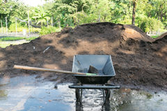 Landwirtschaftlicher Boden stockfoto