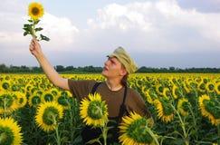 Landwirtschaftlicher Kerl Stockfoto