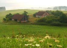 Landwirtschaftlicher Morgen Stockbilder
