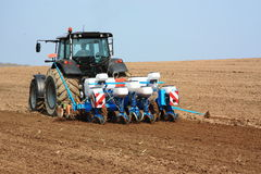 Landwirtschaftlicher Pflanzer Lizenzfreie Stockbilder