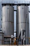 Landwirtschaftlicher Silo draußen Stockbilder
