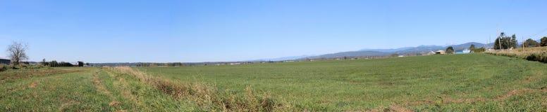 Landwirtschaftliches Ackerland Stockbild