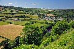 Landwirtschaftliches England Stockfoto