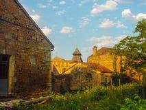 Landwirtschaftliches französisches Dorf Lizenzfreie Stockbilder