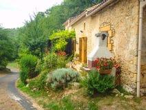 Landwirtschaftliches französisches Dorf Stockfoto