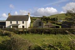 Landwirtschaftliches Häuschen Stockbilder