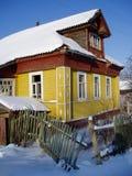 Landwirtschaftliches Haus Stockbild