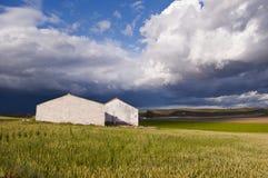 Landwirtschaftliches Haus Lizenzfreies Stockbild