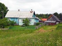 Landwirtschaftliches Haus lizenzfreies stockfoto
