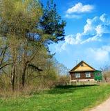 Landwirtschaftliches Haus Stockbilder
