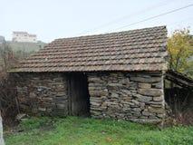 Landwirtschaftliches Haus stockfotografie
