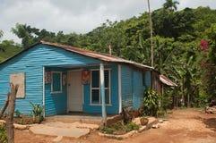 Landwirtschaftliches Haus nahe Samana stockfotografie