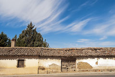 Landwirtschaftliches Haus, Spanien Lizenzfreie Stockfotos