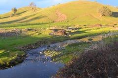 Landwirtschaftliches Land Stockfotos