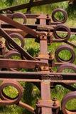 Landwirtschaftliches Werkzeug des Schrottes Stockfotografie