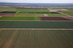 Landwirtschafts-Antenne Stockfotografie