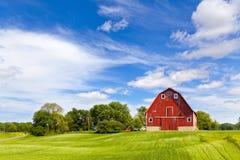 Landwirtschafts-Landschaft Stockfotografie