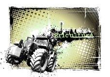 Landwirtschaftsfeld Stockfoto