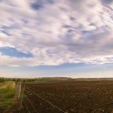 Landwirtschaftsfeld in Toowoomba, Australien stockbild