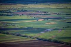 Landwirtschaftsfelder Stockbilder