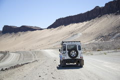 Landy 90 near Orange river Stock Image