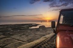 A Landy Sunrise Stock Photo