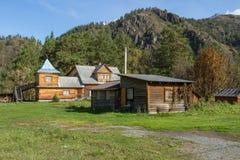 Landzustand in den Altai-Bergen Sommerreisen Stockbilder