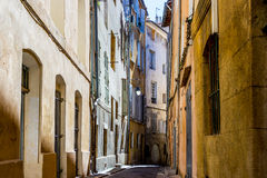 Lane in Aix-en-Provence, France Stock Photos