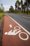 Lane for bicycle 1 . Stock Photography