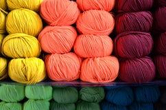 Lane colorate Fotografia Stock