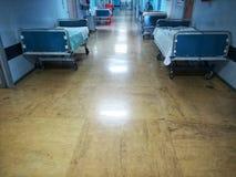 Lane of a hospital stock image