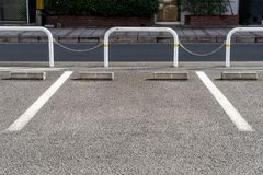 Parking. The lane of the Parking Royalty Free Stock Photography